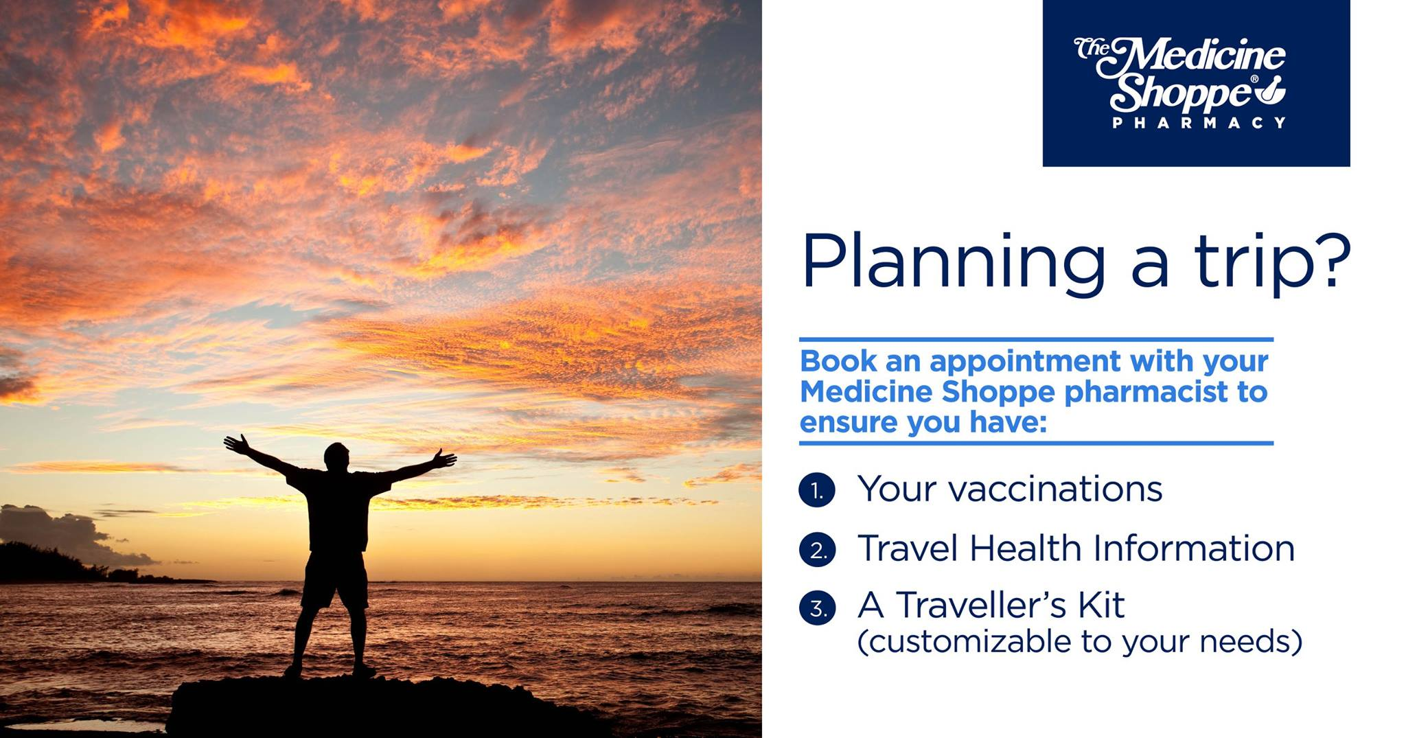 Trip planning info vaccinations health